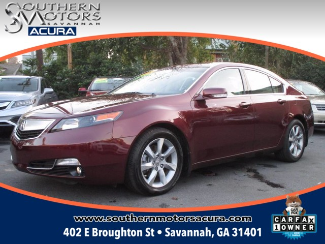 Pre owned 2012 acura tl 3 5 4dr car in savannah a9641a for Southern motors savannah georgia