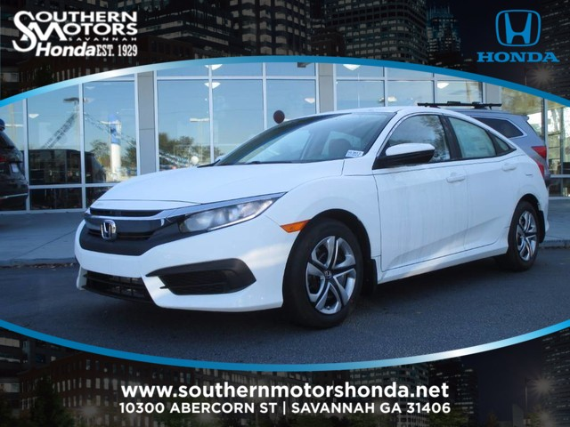 New 2017 Honda Civic Lx 4dr Car In Savannah H13613