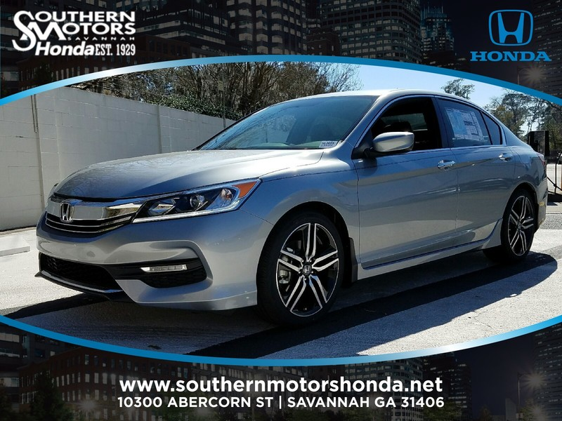 new 2017 honda accord sport se cvt sedan in savannah h13655 southern motors honda. Black Bedroom Furniture Sets. Home Design Ideas