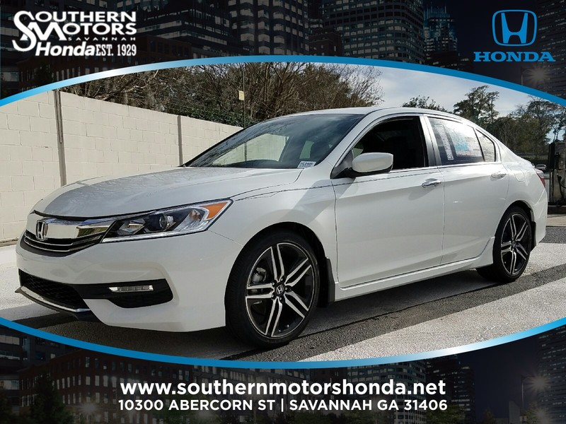 new 2017 honda accord sport se cvt sedan in savannah h13405 southern motors honda. Black Bedroom Furniture Sets. Home Design Ideas