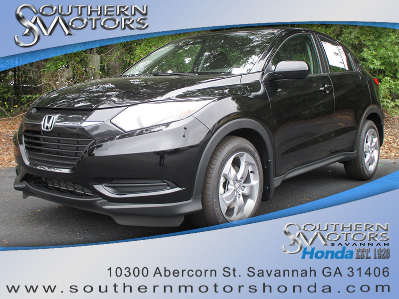 New 2016 Honda Hr V Lx Fwd Suv In Savannah H13235