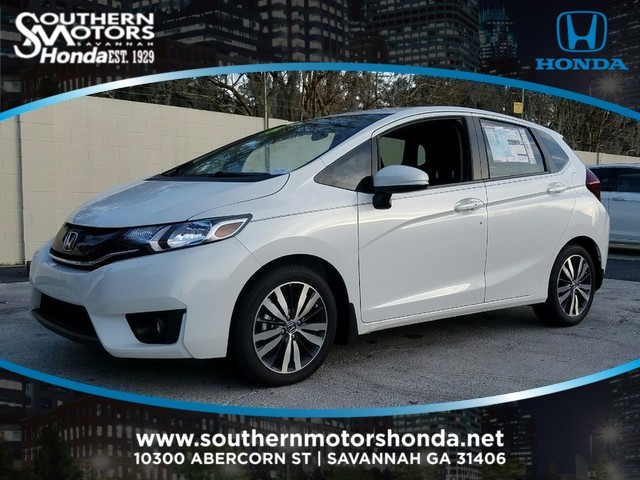 New 2016 Honda Fit 5dr Hb Cvt Ex Hatchback In Savannah